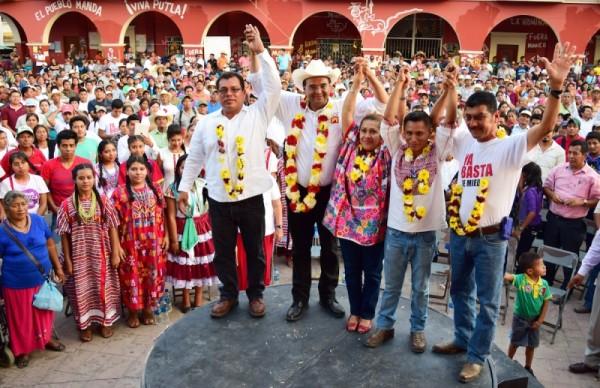 Benjamín Robles, el candidato más cercano a la gente