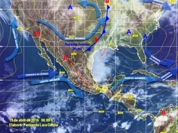 Prevén potencial de lluvias fuertes y ambiente caluroso en Oaxaca