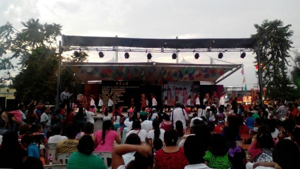 Zona escolar 022, lleva a cabo por 1era ocasión Guelaguetza infantil en Tuxtepec