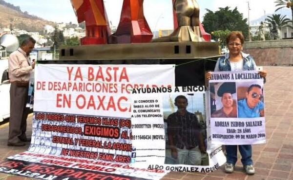 Exigen detener desapariciones en Oaxaca