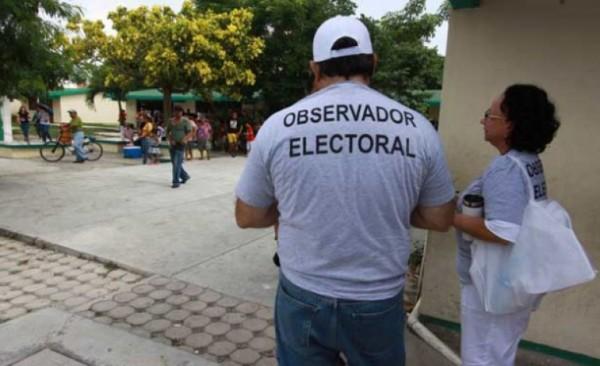 Nula respuesta de los ciudadanos, para ser observadores electorales