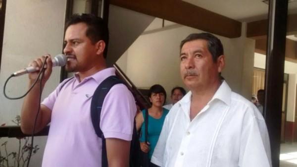 Grita Sección 22 a jueza, tras formal prisión a Aciel Sibaja