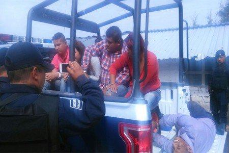 De Veracruz los presuntos secuestradores detenidos en Oaxaca