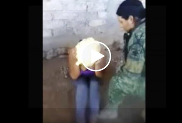 VIDEO: Militares torturan a mujer en Guerrero