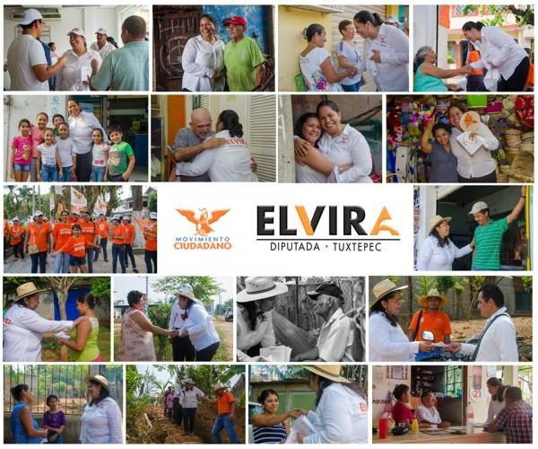 No voten por mí a ciegas, investiguen mi trabajo: Elvira Hernández