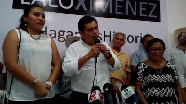 Tuxtepec se encuentra secuestrada por élite de la política: Lalo Ximenez