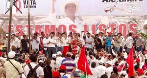Cierra Murat campaña en Tuxtepec