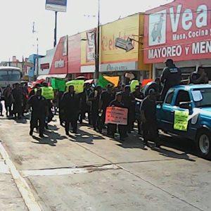 GALERÍA: Marchan policías en Tuxtepec