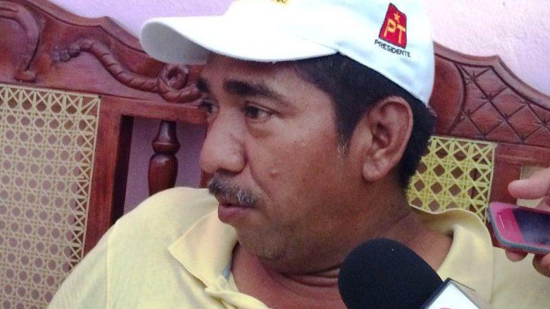 El contrincante del PRD, está dando patadas de ahogado: Candidato del PT en Jacatepec