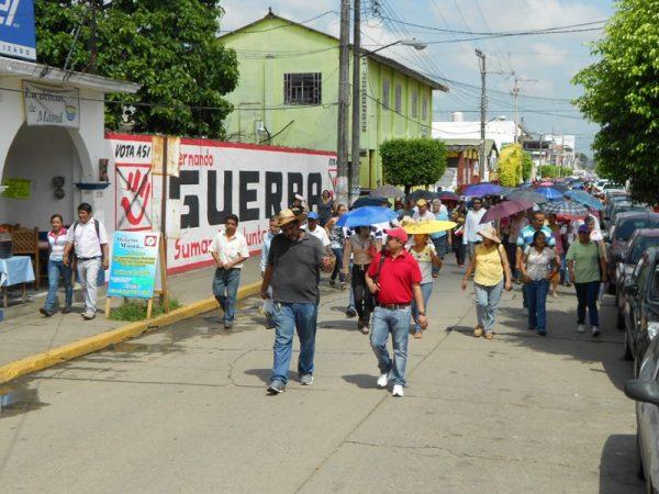 Anuncia S-22, movilización en Tuxtepec