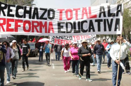 Señala Sección 22 participación de 11 mil maestros de Oaxaca en paro