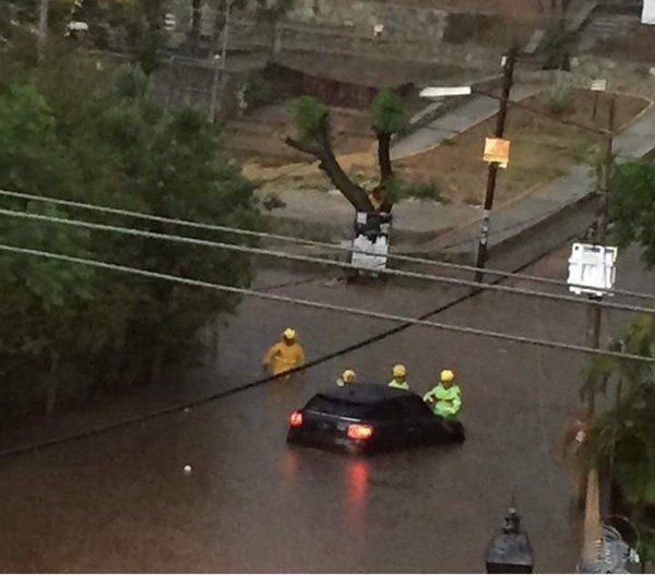 Afectaciones por lluvias en Oaxaca