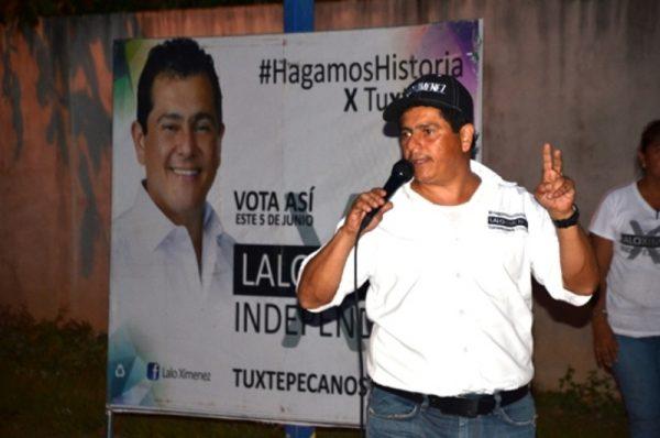 Los tuxtepecanos están listos para votar por Lalo Ximénez, Candidato Independiente