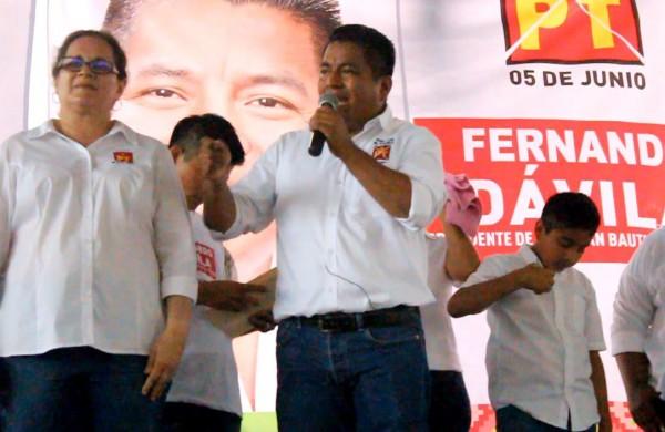 Basta de presidentes que construyan hoteles: Fernando Bautista Dávila