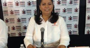 Buscará Candidata Elvira Hernández, gestionar recursos para hospital