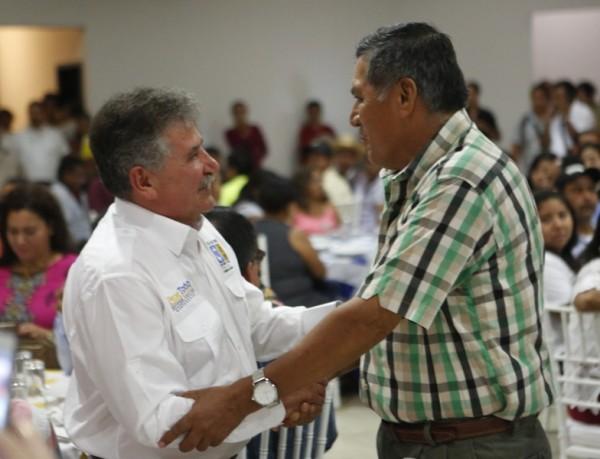 Garantiza Pepe Toño inversión  para la generación de empleos