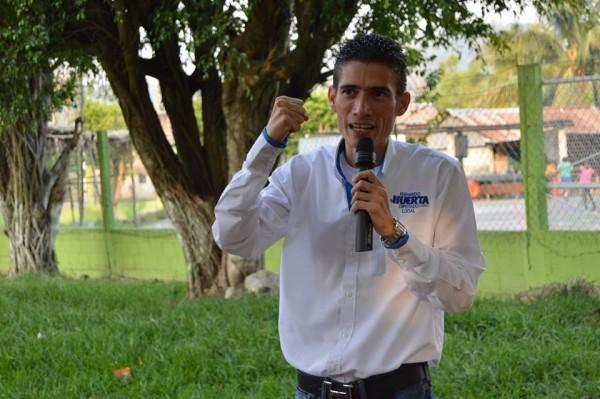 Sectores productivos están con Fernando Huerta