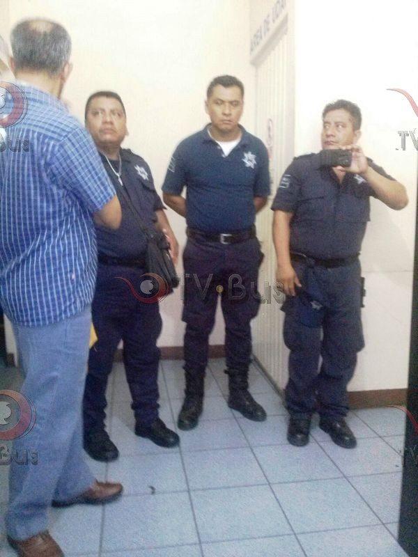 Policías denuncian presuntas amenazas