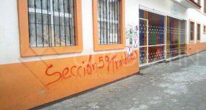 Cierra Sección 22 escuela que laboraba en Juchitán