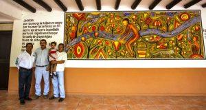 Inauguran mural conmemorativo a la 26 edición del Festival del Río