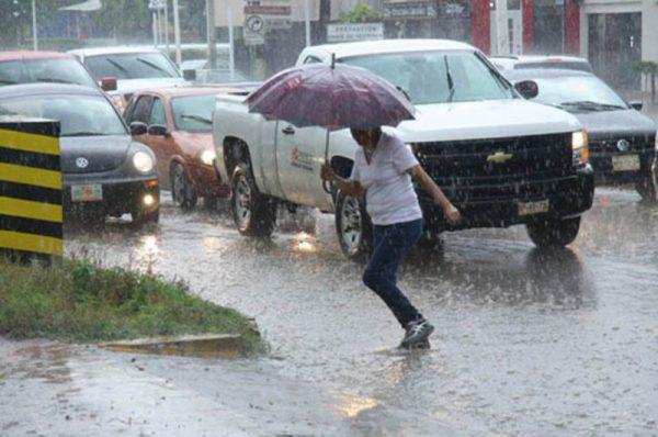 Lluvias fuertes en Veracruz, Puebla, Oaxaca y Chiapas