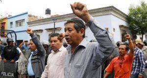 El líder de la CNTE tramita amparo para evitar su detención en Oaxaca