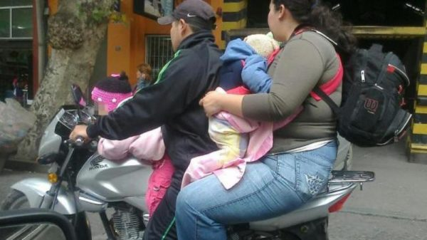 Por imprudencia, accidentes en moto principal servicio en la Cruz Roja