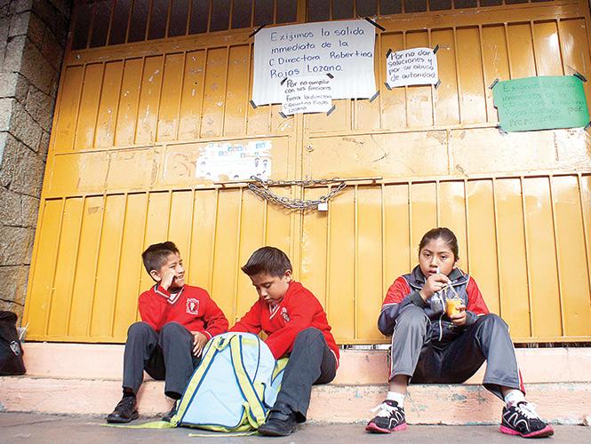 Más de un millón sin clases nuevamente en Oaxaca