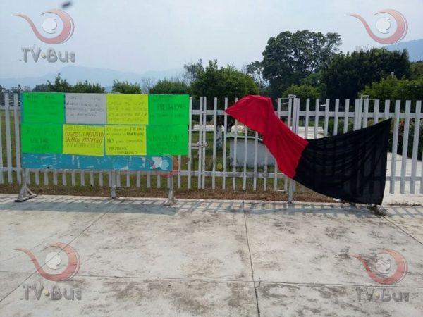 Continúa huelga en CECYTEO, exigen aumento que ya fue aprobado