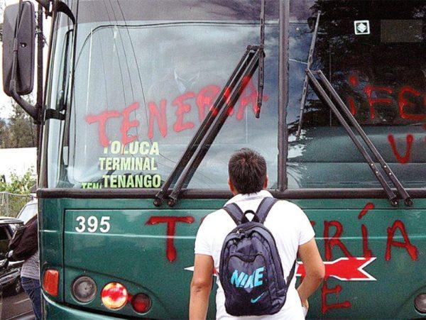 Desaparecen 37 autobuses y sus choferes en Edomex