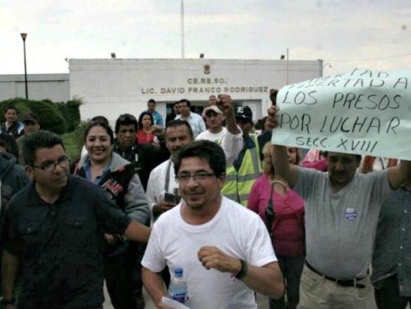 Liberan al exsecretario técnico de la CNTE Michoacán