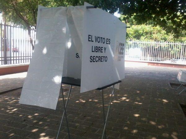 Exhorta INE a partidos que retiren propaganda cercana a casillas