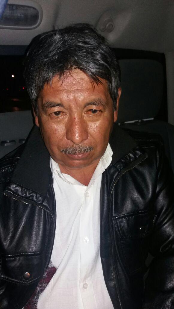 #Foto Ruben Nuñez al momento de ser detenido