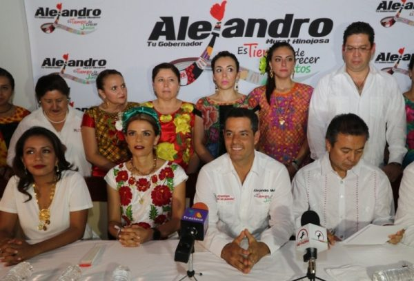 En mi campaña sí escuchamos las necesidades de los oaxaqueños: Alejandro Murat Hinojosa