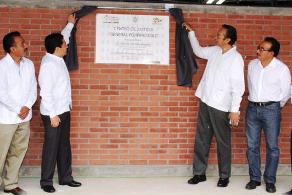 Inicia funciones primer Centro de Justicia en Oaxaca