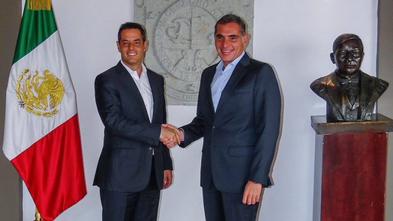 Gabino y Murat se reunen; acuerdan sólida coordinación