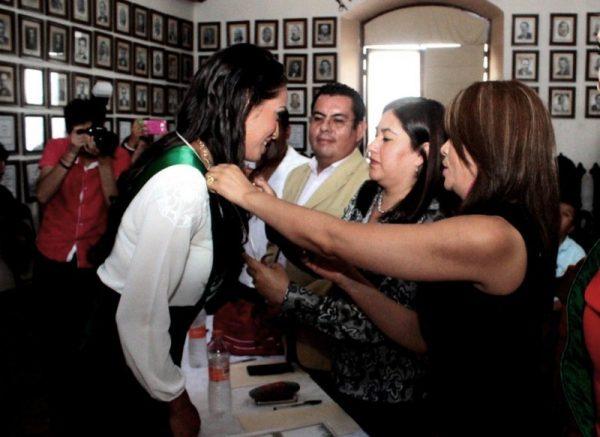 Deyanira Ordaz, ganadora de Miss Earth Oaxaca 2016
