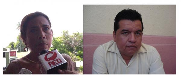 Señalan a Emma del Carmen y Manuel Rodríguez, de operar en contra de Gabriel y Silvino