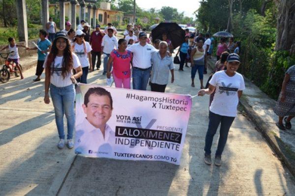 Hay que hacer uso del derecho de votar y que el voto sea para Lalo Ximénez