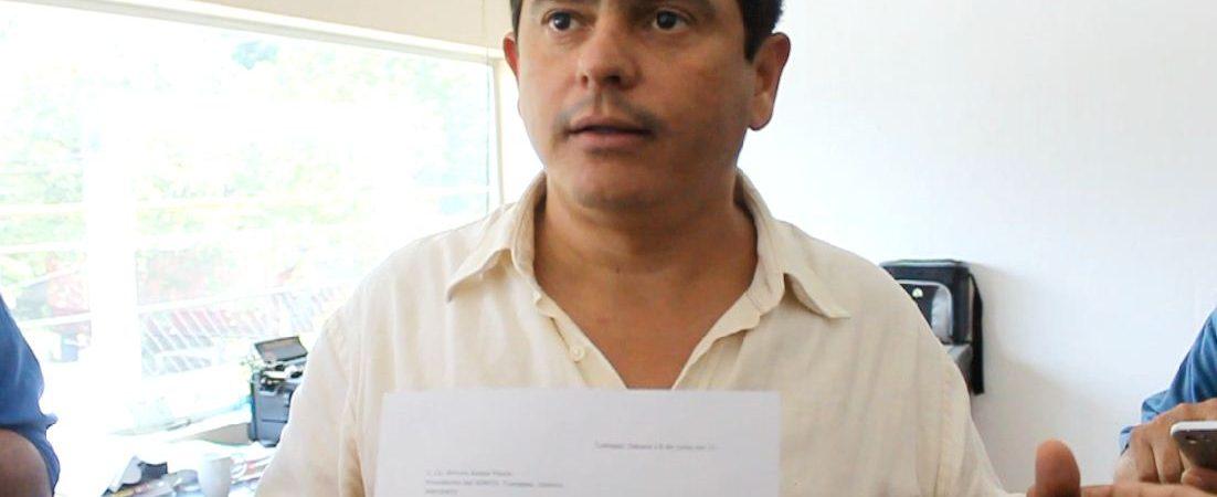 Acusa Lalo Ximénez a Sacre de utilizar recursos públicos para apoyar a Fernando Dávila