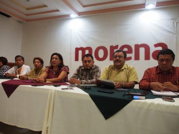 Rechaza Morena financiar grupos violentos dentro de la 22