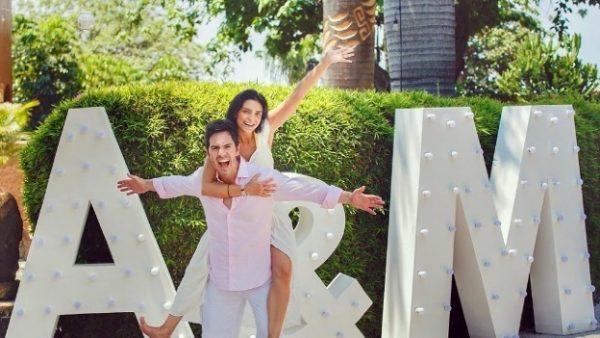 ¡Hermosa! Aislinn Derbez pública fotos de su boda con Mauricio Ochmann