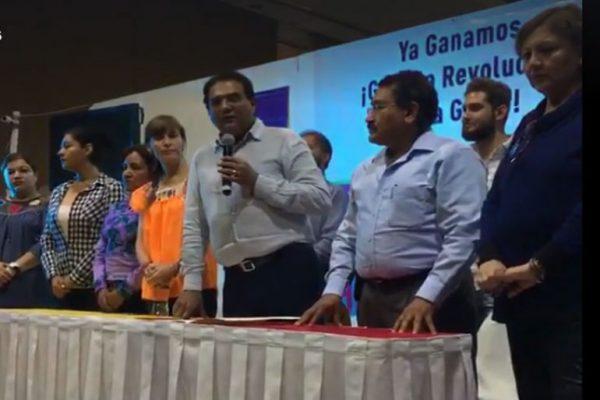 Se proclama Benjamín Robles ganador de la contienda en Oaxaca