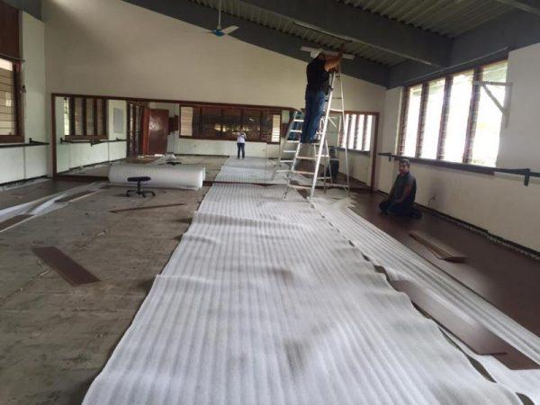 Invierten alrededor de 57 mil pesos, en remodelaciones en Casa de la cultura