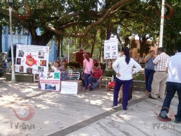UPN instala centro de acopio en apoyo a Nochixtlán
