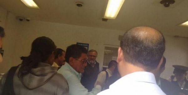 Ingresa comisión de Nochixtlán a reunión con Segob