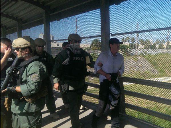 EU entrega a 'El Güero' Palma a autoridades mexicanas en Matamoros