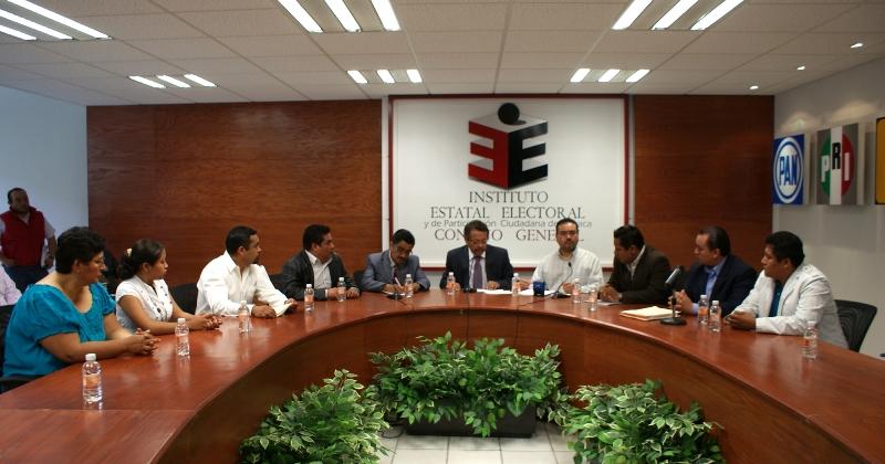 Vigila IEEPCO cómputos finales de elección en los 25 distritos de Oaxaca
