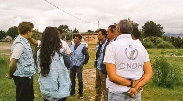5 observadores de la ONU llegaron a Oaxaca, para recabar testimonios sobre hechos violentos