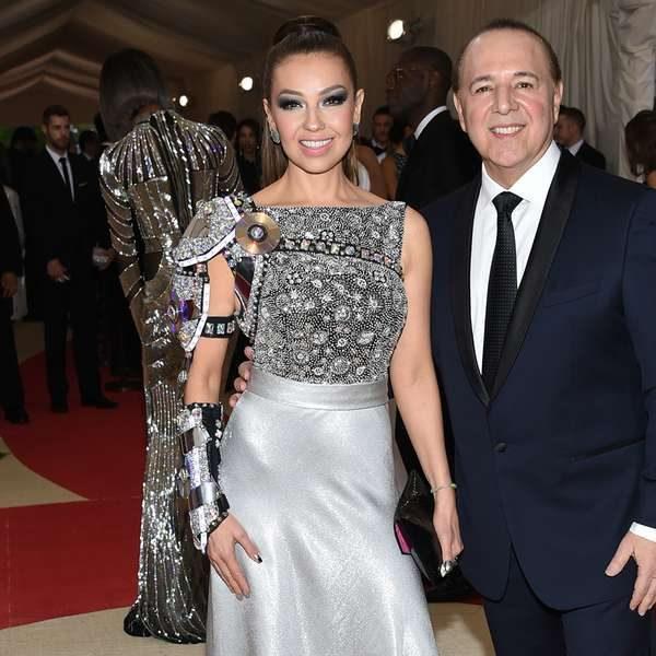 Thalia lanza junto a su esposo dos grandes producciones: A Bronx Tale con Robert De Niro y el musical de Donna Summer